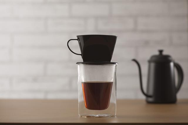 コーヒー 珈琲グラス ガラス ドッリプ スタバ バルミューダ  rayes レイエス スクエア ダブルウォールグラス