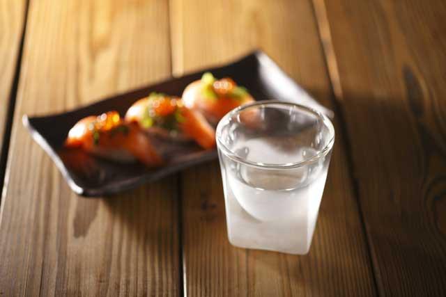 日本酒 焼酎 刺身 サーモン rayes レイエスダブルウォールグラス