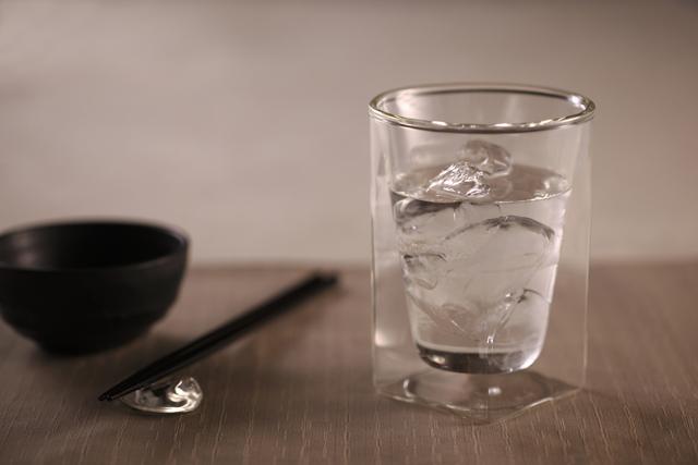 焼酎 水割り rayes レイエスダブルウォールグラス