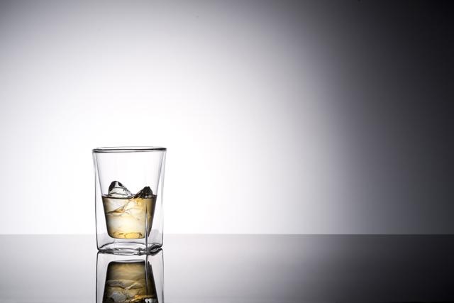 ウィスキー ロック rayes レイエスダブルウォールグラス